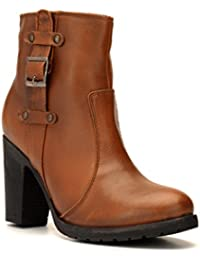 Bruno Manetti Women's Tan Suede Leather Boots