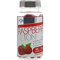 FORZA Raspberry Ketone 2:2:1 –High Strength Diet Pills with Pure Raspberry Ketone for Weight Loss - 90 Capsules