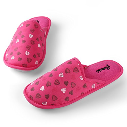 Aerusi  Slippers, Chaussons pour femme Rose