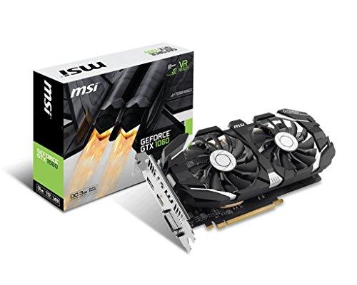 MSI GeForce GTX 1060 3GT OCV2 3GB Graphics Card