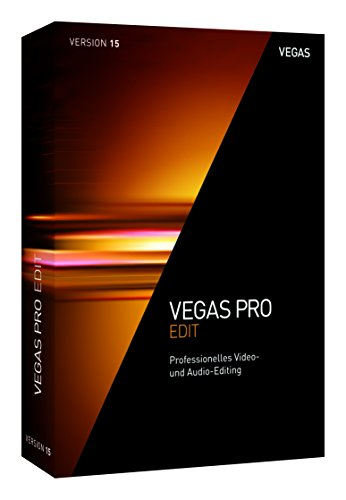 VEGAS Pro|15 EDIT|1 Device|Perpetual License|PC|Disc|Disc