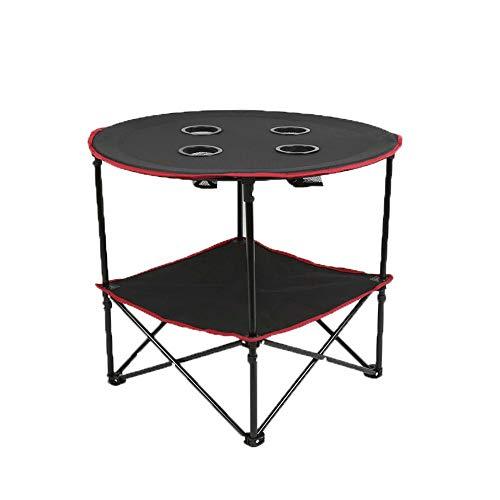 Yunbo-SP Outdoor-Campingtisch Tragbare Mini-Outdoor-Klapptische Oxford-Stoff-Desktop-Ständer Integrierter Reise-Klapptisch Vielseitiger und einfacher Tisch Kompakter Kleiner Picknicktisch