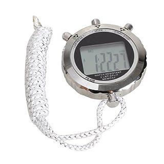 Broadroot Chronograph Metal Digital Timer Stopwatch Sports Counter Waterproof Stopwatch