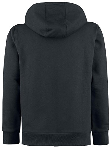 Gothicana by EMP Dark Zip Hoodiejacket Sweat à capuche zippé noir Noir