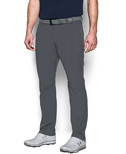 2017-under-armour-match-play-taper-pants-mens-golf-flat-front-trousers-rhino-gray-30x30