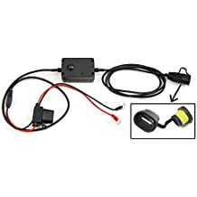 Cargador USB de teléfonos apto para motocicletas, motos, ciclomotores y escúteres que se conecta directamente a la batería para iPad, iPad 2, 3, 4 air Dell Tablet etc