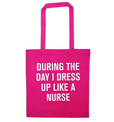 Durante il giorno i vestito come un infermiere Borsa Pink