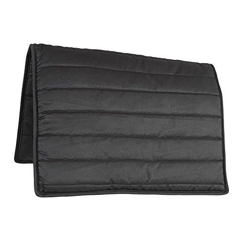 Shires Komfort Satteldecke Cob/Full Black