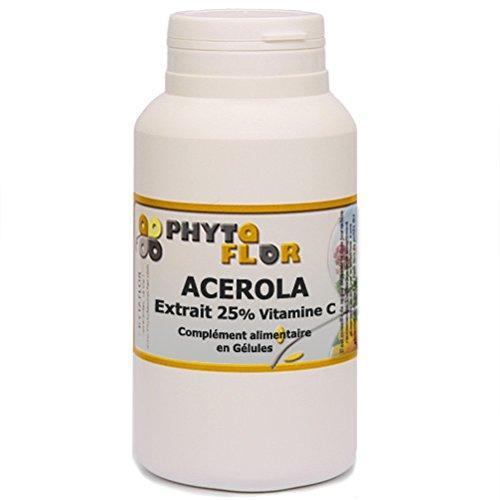 ACEROLA naturel Phytaflor. - . : 1 boite de 300 gélules