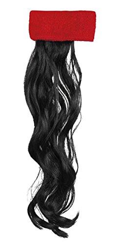 Boland 85994 Haarband mit Haaren, mens, One Size