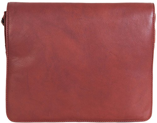 VISCONTI BORSA A MANO IN SOFFICE PELLE 753 Marrone