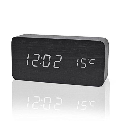 Iitrust - Reloj Digital Despertador Madera