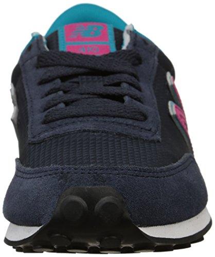 New Balance WL410 B, Baskets mode femme Bleu (Cpa Navy)