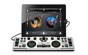 ION Audio DJ2GO | Leistungsstarker MIDI USB DJ-Controller für unterwegs - inkl. Software für Mac / Pc