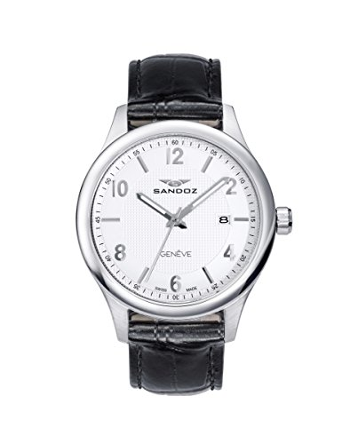 Reloj Suizo Sandoz Caballero 81365-83 Elegant Collection