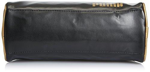 Puma, Borsa a tracolla Donna Spirit Nero (Black-Gold)