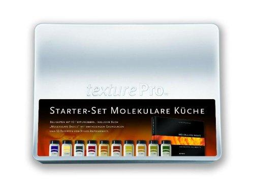 Starter-Set Molekulare Küche: Baukasten mit 10 Texturgebern, inklusive Buch 34;Molekulare Basics34; mit umfassenden Grundlagen und über 60 Rezepten von Heiko Antoniewicz