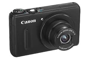 Canon Powershot S100 Digitalkamera (12 Megapixel, 5-fach opt. Zoom, 7,7 cm (3 Zoll) Display, Full-HD Video, GPS, bildstabilisiert) schwarz