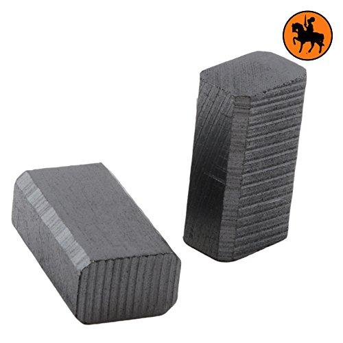 Preisvergleich Produktbild Kohlebürsten Metabo SR 10-23 Schleifer 601023310 6x9x15,5 mm ohne automatische Abschaltung