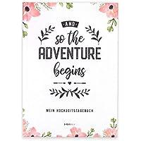 Weihnachtsgeschenk Braut, Tagebuch, Hochzeitstagebuch, süßes Geschenk für die Braut und perfekt zur Verlobung, Hardcover, Erinnerungsalbum an die Zeit vor der Hochzeit