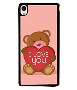 PrintVisa Designer Back Case Cover for Sony Xperia M4 Aqua :: Sony Xperia M4 Aqua Dual (Love Lovely Attitude Men Man Manly)