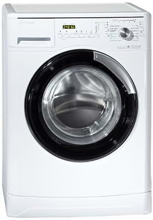 bauknecht wa uniq 834 bw machine laver chargement frontal a 1400 tr min 8 kg blanc. Black Bedroom Furniture Sets. Home Design Ideas