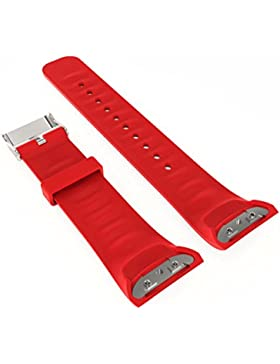 Ouneed® Uhrenarmbänder Armband, Luxus Silikon Uhr Ersatzband für Samsung Gear Fit 2 SM R360 Armband