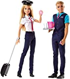 Barbie Pink Passport Pilot Doll and Accessory Set [Import Anglais]