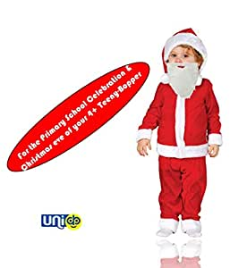 Selling Uniqness Baby Santa Costume Suit (4 -6 Years)