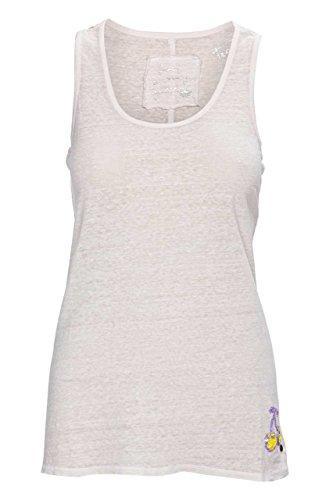 Frogbox Damen Shirt Top CHERRY DECO, Farbe: Flieder Rosa
