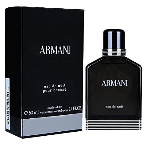 Giorgio Armani Nuit homme / men, Eau de Toilette, Vaporisateur / Spray 50, 1er Pack (1 x 50 ml)