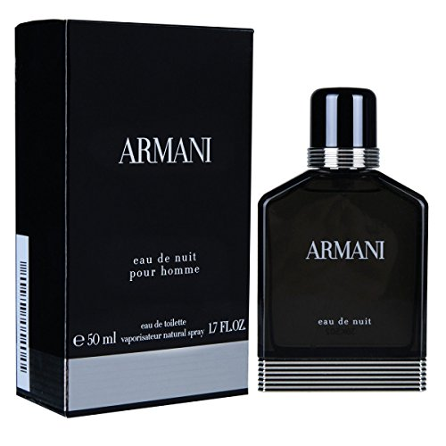 Giorgio Armani Nuit homme/men, Eau de Toilette, Vaporisateur/Spray 50, 1er Pack (1 x 50 ml) (1.7 Edt Cologne Men)