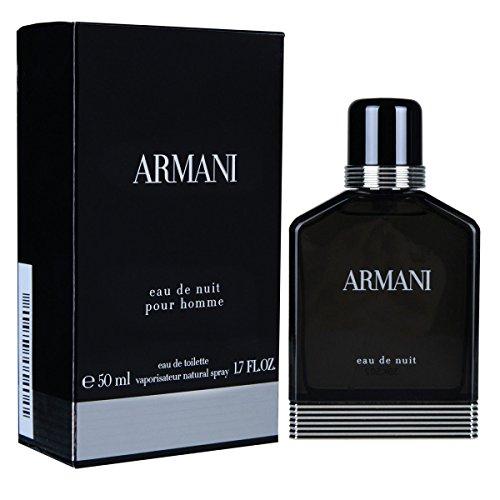 Giorgio Armani Nuit homme/men, Eau de Toilette, Vaporisateur/Spray 50, 1er Pack (1 x 50 ml)