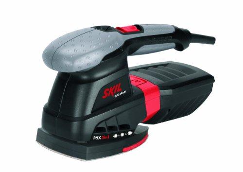 Skil-Fox-3-en-1-7220AC-Ponceuse-Multifunction-a-Variateur-de-Vitesse-250W-100-x-150-mm-125-mm-Sac–Poussire-10-Feuilles-abrasives-Sac-de-Transport