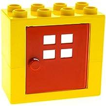 Aufklappbar Lego Duplo Zubehör Für Figuren Roter Koffer Baukästen & Konstruktion