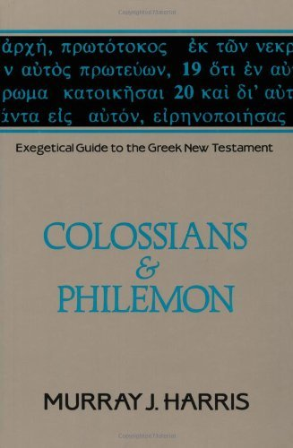 Download pdf by murray j harris exegetical guide to the greek new download pdf by murray j harris exegetical guide to the greek new testament volume 12 fandeluxe Images