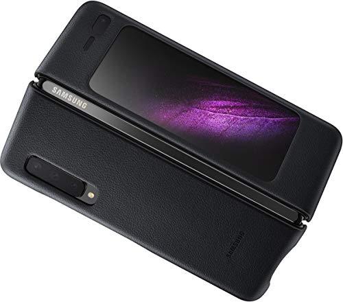 Galaxy Fold 5G Custodia Pelle Nero