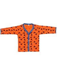 Babeezworld Baby Cotton Front Open Full Sleeves Vest Tshirt Jhabla Top Suitable For Girls & Boys (Kids)
