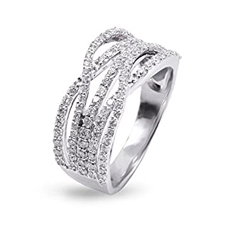Joyalukkas Pride Diamond Collection 18k White Gold and Diamond Ring