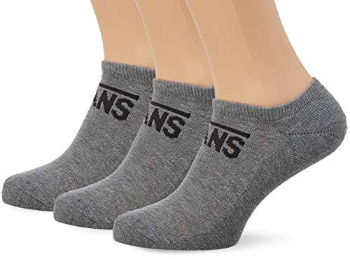 Vans Herren CLASSIC KICK (6.5-9, 3PK) Socken, Grau (Heather Grey Htg), One Size -