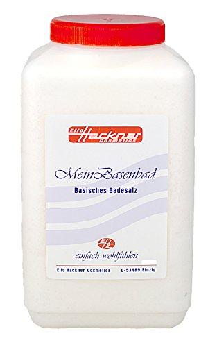 Mein Basenbad, Basische Körperpflege, Basisches Badesalz mit Himalajasalz und natürlichen Mineralien und Edelsteinpulver (1Kg) von ElioHackner Cosmetics