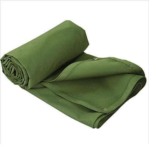 Planen Pavillon Camping Winddicht Silikon-Starke Wasserdichte Außensonnenschutz-Verdickungs-Dach-Plane-Zelt-Krepp MY1MEY (Farbe : Green, größe : 2 * 1.5)
