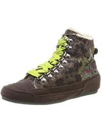 Desigual Sneakers - Altas de cuero mujer