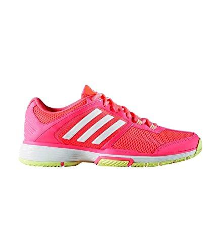 adidas Barricade Club W, Zapatillas de Tenis para Mujer, Coral (Rojdes/Ftwbla / Amahie), 36 2/3 EU
