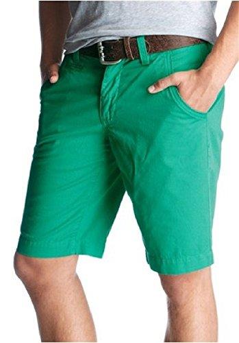 Short chino pour homme motif à john Vert - Vert