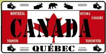 PLAQUE AMERICAINE USA COLLECTION PAYS DU MONDE CANADA