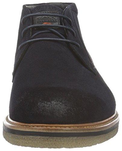 Boss Orange Tuned_Desb_Sd 10193546 01, Desert Boots Homme Bleu (Dark Blue 401)