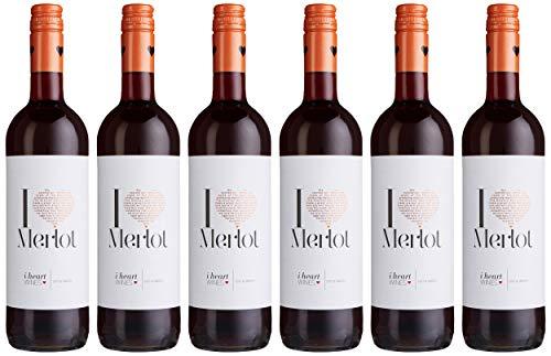 I heart Merlot Wein (6 x 0.75 l)