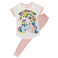 TDP PJ Ladies Character Pyjamas Choose from Super Woman Tinkerbell Eeyore Marvel Heroes Minnie Mouse (8-10 Ladies, My Little Pony Style 2)