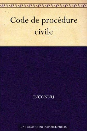 Code de procédure civile par Inconnu